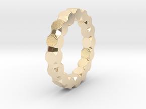 Fiete - Ring in 14k Gold Plated Brass: 9 / 59