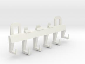 Advance Holder in White Natural Versatile Plastic