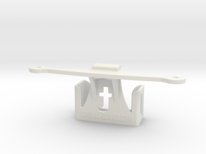 Trackimo holder for DJI Phantom 3 in White Strong & Flexible