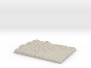 Model of Tushie Law in Sandstone