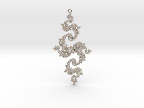 Julia Pendant 1 HP2 in Platinum