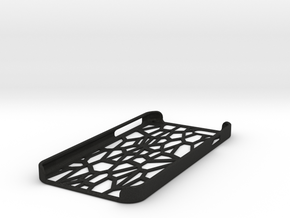 Lattice iphone 6 case in Black Acrylic