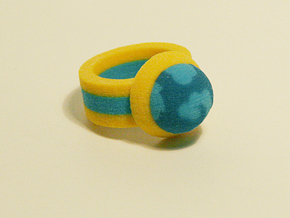 Zelda Fan Art: TLoZ: Blue Ring in Full Color Sandstone