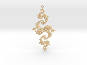 Julia Pendant 1 MP2 in 14K Yellow Gold