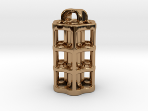 Tritium Lantern 5B (3x22.5mm Vials) in Polished Brass