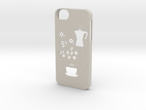 Iphone 5/5s coffee case in Natural Sandstone