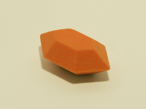 Zelda Fan Art: TLoZ: Orange Rupee in Full Color Sandstone