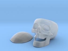 SkullStash bowl in Smooth Fine Detail Plastic