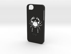 Iphone 5/5s cancer case in Black Natural Versatile Plastic