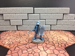 Dominion Peacekeeper (28mm/Heroic scale) in White Processed Versatile Plastic