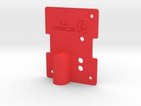 JR Module Top in Red Processed Versatile Plastic