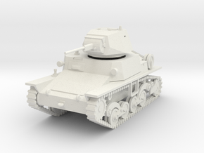 PV81 Italian L6/40 Light Tank (1/48) in White Natural Versatile Plastic