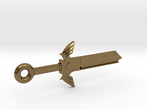 Zelda Master Sword House Key Blank - KW11/97 in Natural Bronze