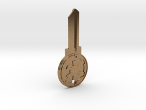 Empire House Key Blank - SC1/68 in Natural Brass