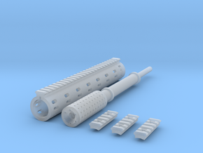 1:6 ROUND FOREGRIP ISR DETAIL V2 in Smooth Fine Detail Plastic