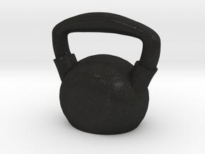 Kettlebell  - Made of Steel in Black Acrylic