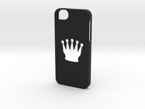 Iphone 5/5s chess queen case in Black Natural Versatile Plastic