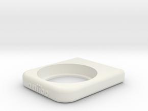 Amiibo Display Wall Mount in White Natural Versatile Plastic