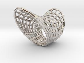 Vortex Ring in Rhodium Plated Brass