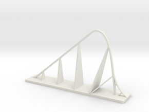 Fury 325 Roller Coaster in White Natural Versatile Plastic