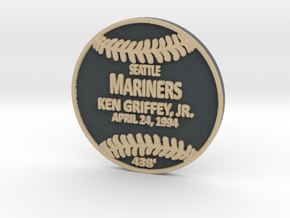 Ken Griffey in Full Color Sandstone