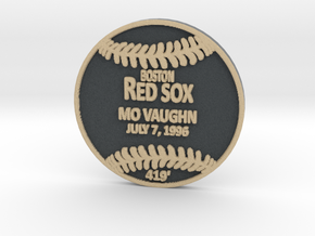 Mo Vaughn in Full Color Sandstone