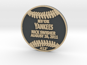 Nick Swisher in Full Color Sandstone