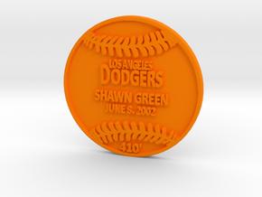 Shawn Green in Orange Processed Versatile Plastic