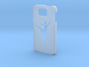 Samsung Galaxy Alpha Ballet dancer case in Smooth Fine Detail Plastic