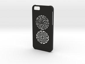Iphone 6 Celtic case in Black Natural Versatile Plastic