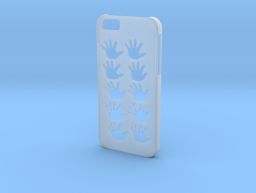 Iphone 6 Hands case in Smooth Fine Detail Plastic