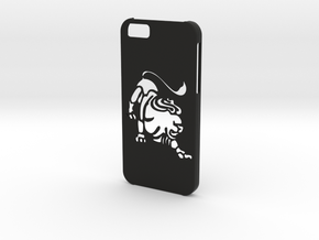Iphone 6 Leo case in Black Natural Versatile Plastic