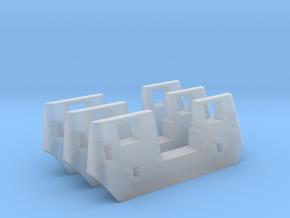 RTA/Metra F40PH Plow (HO - 1:87) 3X in Smooth Fine Detail Plastic