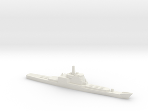 Aegis and VLS refitted Long Beach, 1/1800 in White Natural Versatile Plastic