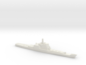Aegis and VLS refitted Long Beach, 1/2400 in White Natural Versatile Plastic