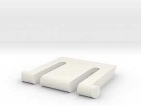K360 Keyboard Leg in White Natural Versatile Plastic