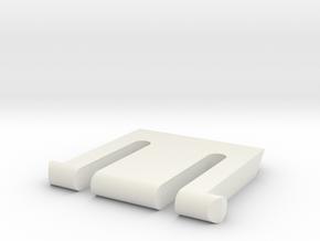 K360 Keyboard Leg in White Natural Versatile Plastic