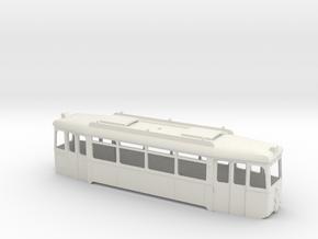 Verbandstyp II Triebwagen Wagenkasten Rhein-Neckar in White Natural Versatile Plastic
