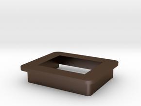 Mod Meter ( modmeter ) Bezel/Cradle in Polished Bronze Steel