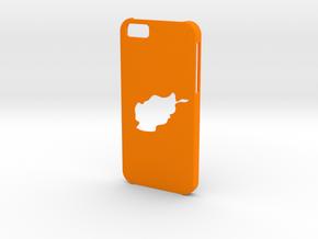 Iphone 6 Afghanistan Case in Orange Processed Versatile Plastic