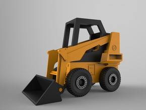 Bobcat Loader (1:100 Scale) in Frosted Ultra Detail