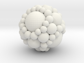 Soddy spheres in White Strong & Flexible: Medium