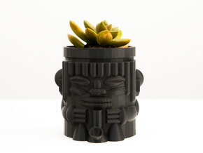 Ire Tiki Planter in Frosted Ultra Detail