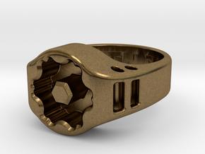 US8 Ring XIX: Tritium in Natural Bronze