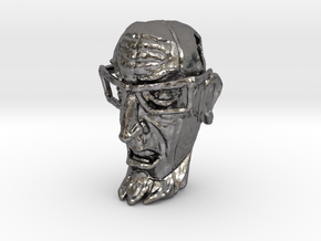 Dr Venture Pendent-Tiki style in Polished Nickel Steel