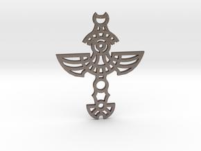 Winged Cross / Cruz Alada in Stainless Steel