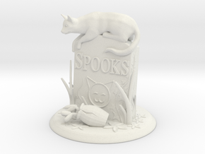 Spooks - Haunting Own Grave in White Natural Versatile Plastic