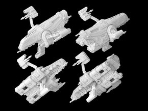 D5-Mantis Patrol Craft (1/270) in White Strong & Flexible