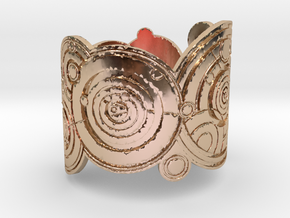 The Doctor's name (Engraved): Cuff - size XS in 14k Rose Gold