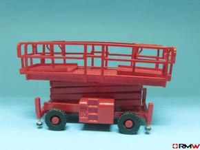 HO/1:87 Aerial working platform 2 kit in Frosted Ultra Detail